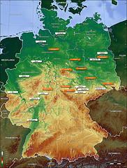deutschlandkarte photo