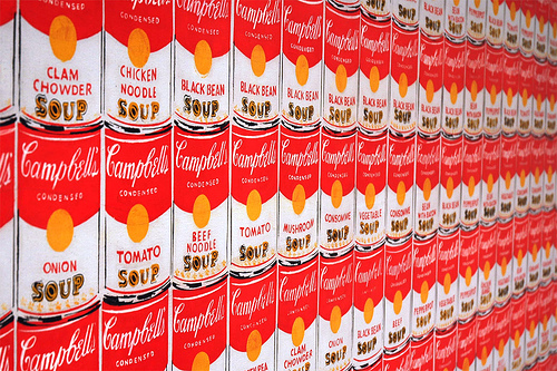 soup andywarhol photo