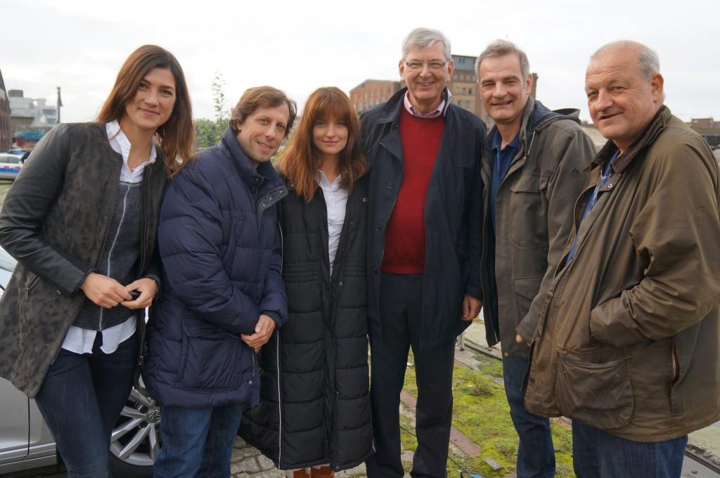 Wilsberg-Team mit Karl Schiewerling
