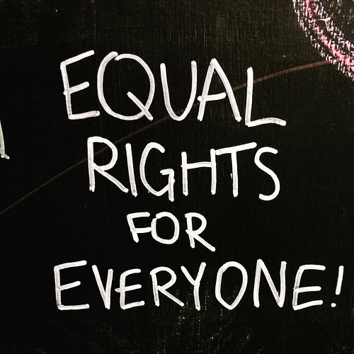 equal rights for everyone photo