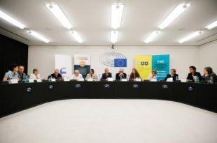 Anhörung im Euorpaparlament in Straßburg