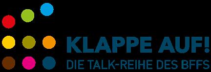 Logo KLAPPE AUF!